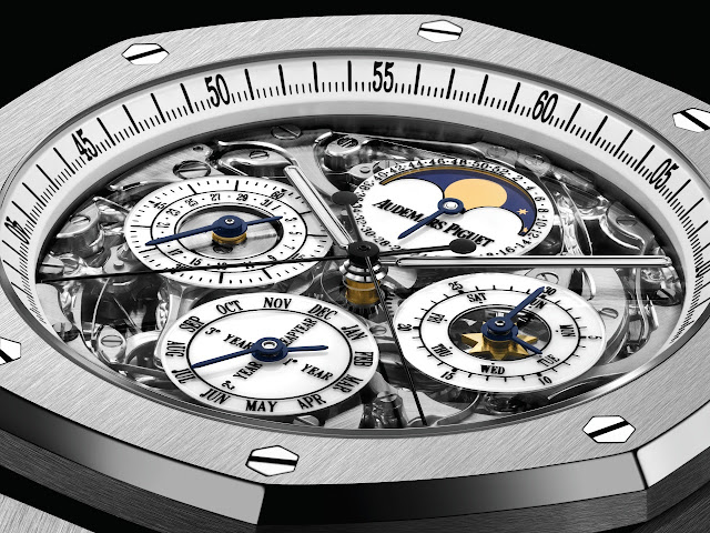 Four Royal Oak Grandes Complications and A Royal Oak Jumbo to Benefit One Drop and Prince Albert II of Monaco Foundations