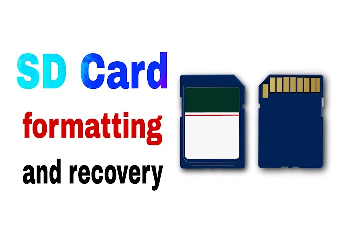 What are SD card formatter and recovery?