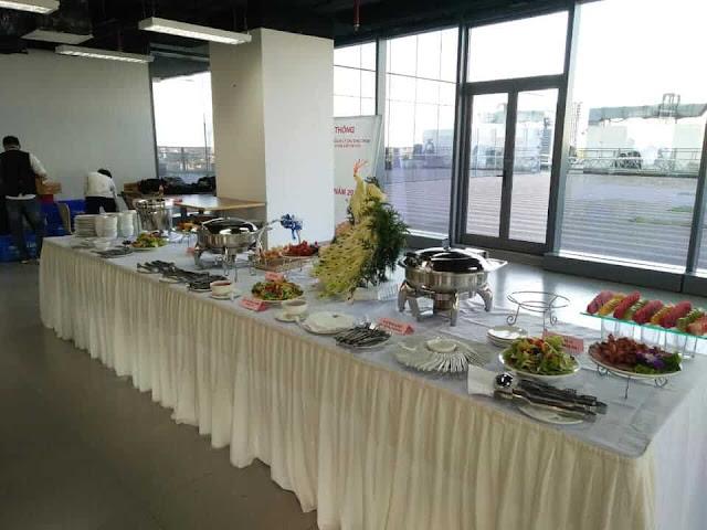đặt tiệc buffet tại hà nội