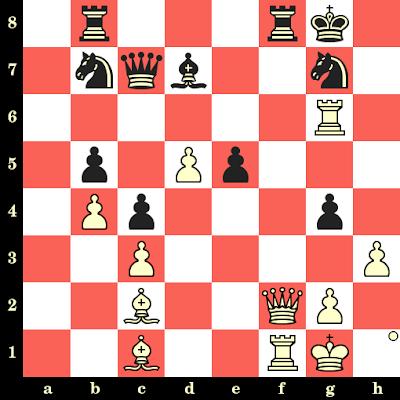 Les Blancs jouent et matent en 4 coups - John Nunn vs Nigel Short, Bruxelles, 1986