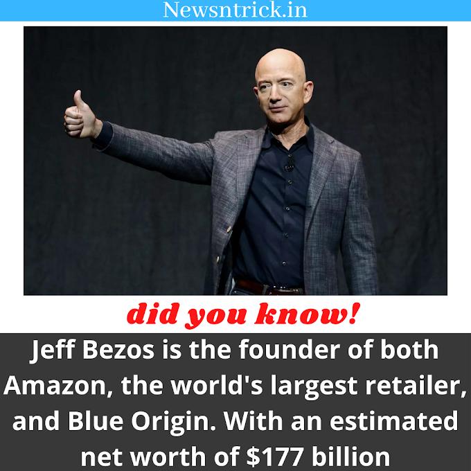 World Richest Man Net Worth $177 billion | Newsntrick Did You Know !