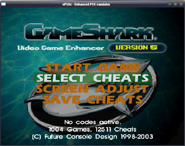 how to add cheats to psx emulator