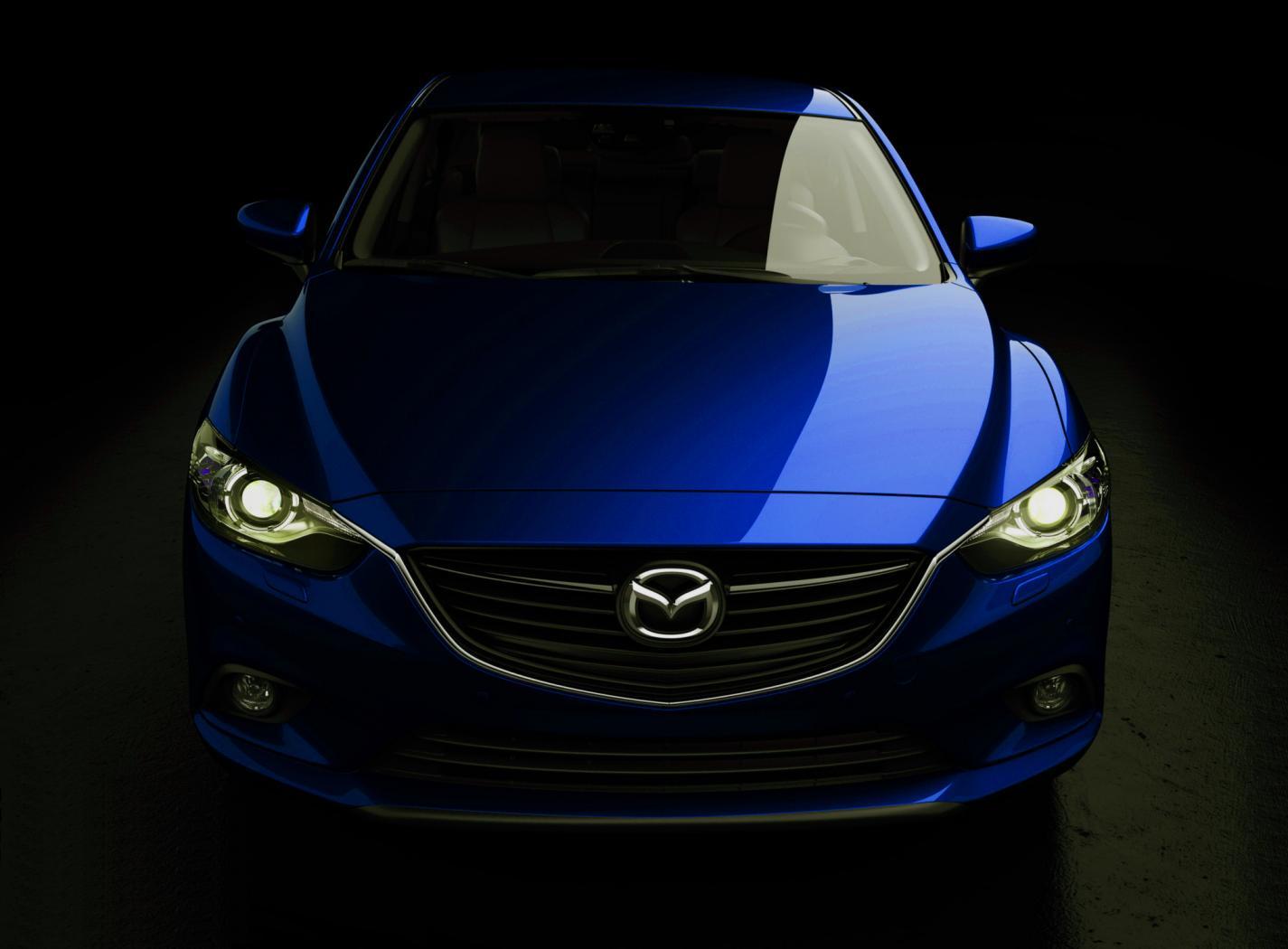 2013 Mazda 6 Sedan Blue - wallpaper world