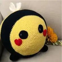 Abejorro a Crochet