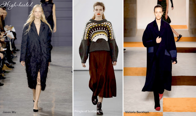 Оверсайз (oversize) - модный тренд сезона осень 2016 - зима 2017
