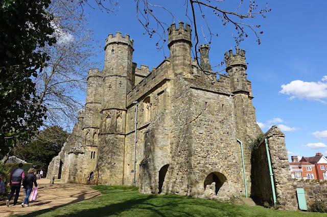 Battle Abbey & Battlefield East Sussex England