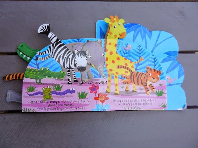 Animos Rigolos : Les couleurs de la jungle (Présentation & Avis)(Chut, les enfants lisent #12)