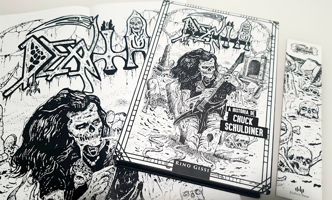[RESENHA #815] DEATH BY METAL | A HISTÓRIA DE CHUCK SCHULDINER - RINO GISSI