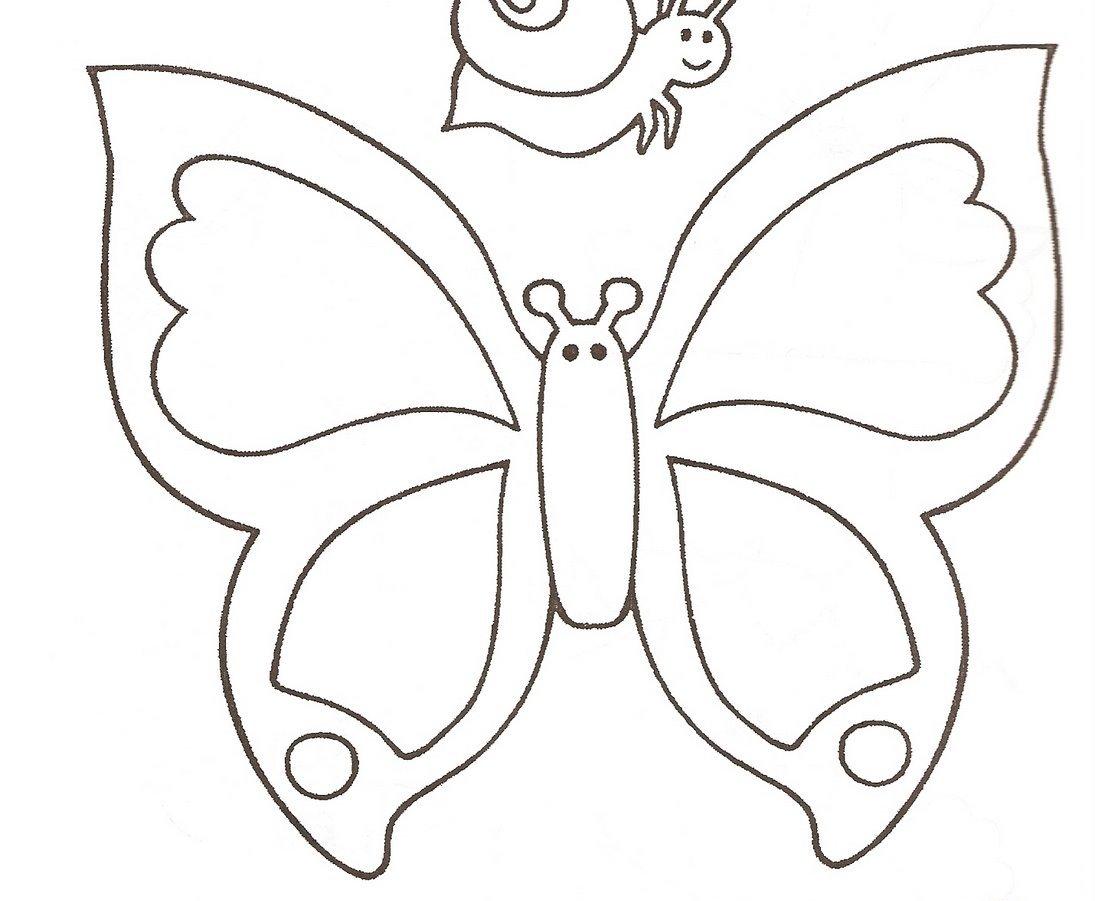 Desenho De Borboleta Para Imprimir