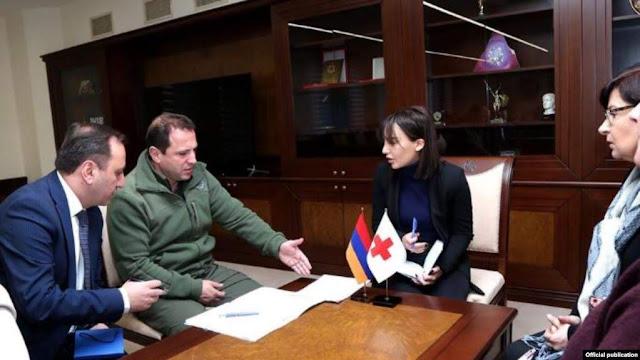 Reunión por los armenios detenidos en Azerbaiyán