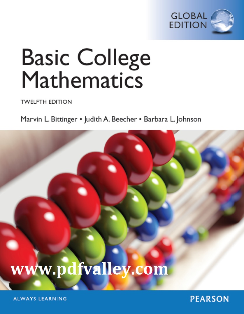 Basic Mathematics For College Students With Early Integers ...