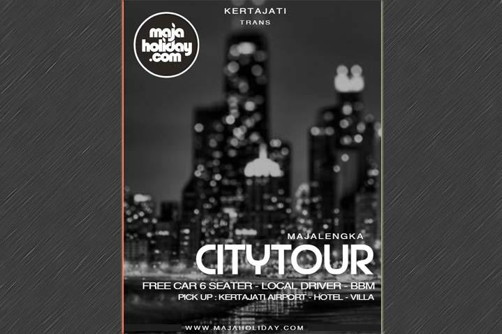poster sewa mobil city tour kertajati majalengka