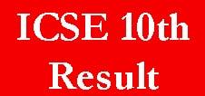 ICSE 10th Result