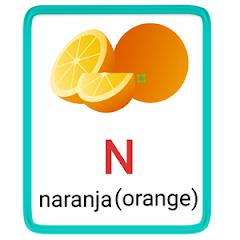 n- alphabet in spanish