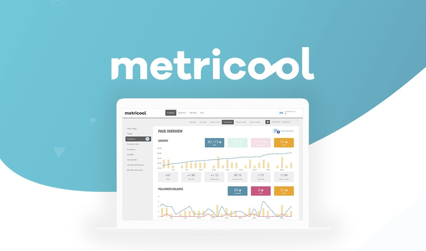 $49 Lifetime access to Metricool