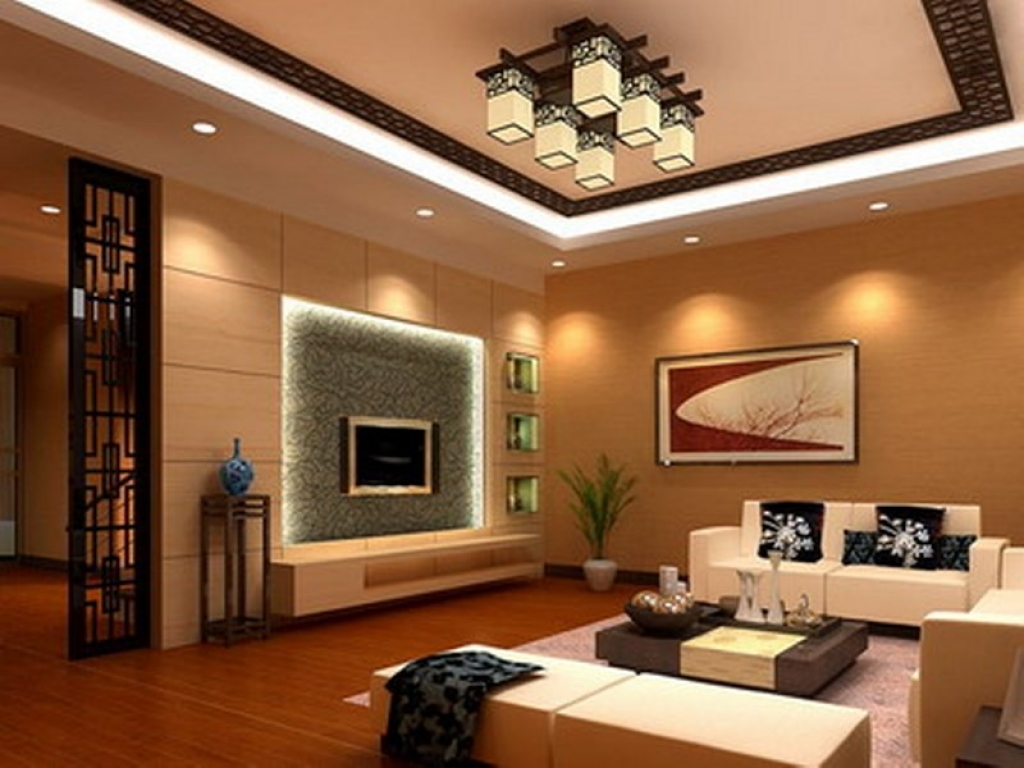 Best 70 Modern Living Room Interior Designs, POP False