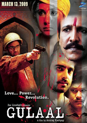 Poster Of Bollywood Movie Gulaal (2009) 300MB Compressed Small Size Pc Movie Free Download worldfree4u.com