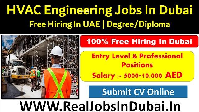 HVAC Engineer Jobs In Dubai- UAE