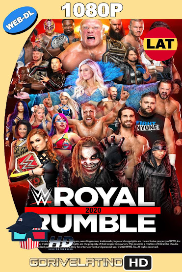 WWE Royal Rumble (2020) WEB-DL 1080p Latino-Ingles MKV