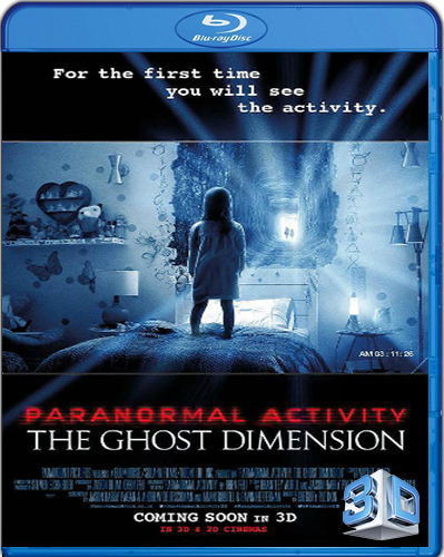 Paranormal Activity: The Ghost Dimension [BD25] [2015] [Latino] [3D]