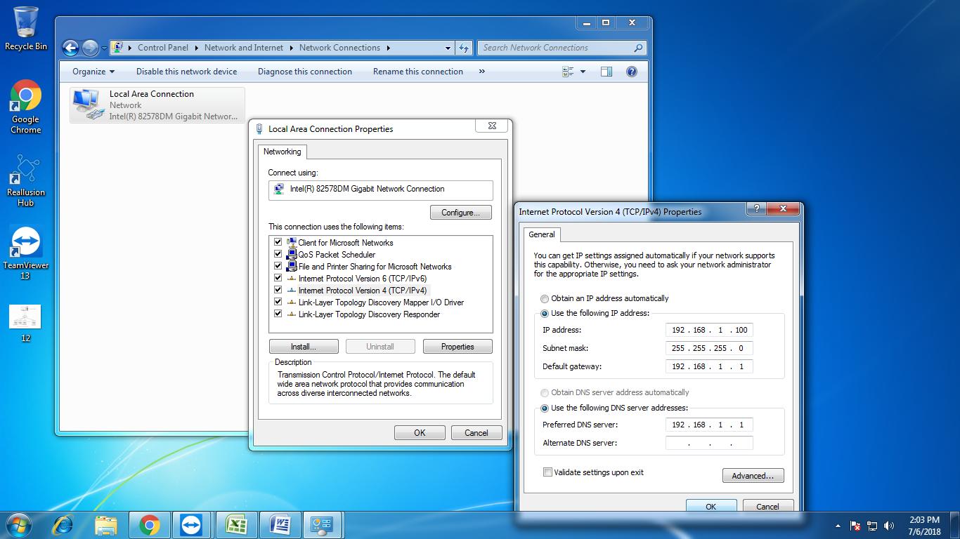 Thin Client Setup Windows 10