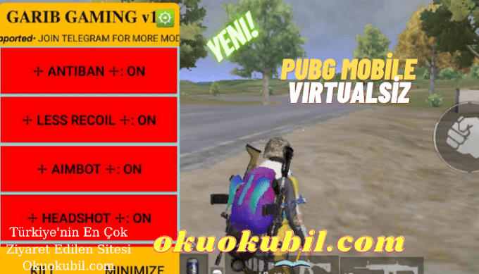 Pubg Mobile Virtualsiz Garib Menü v1.2 Hileli KOREA ESP APK İndir