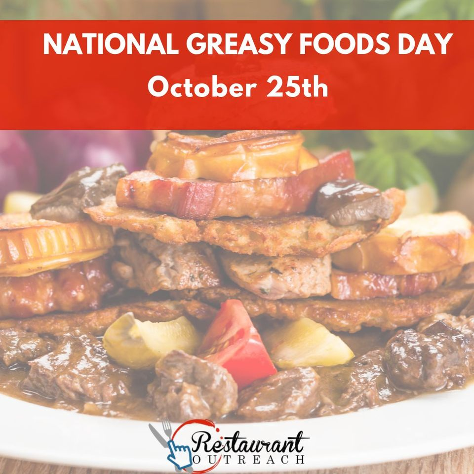 National Greasy Foods Day Wishes for Instagram