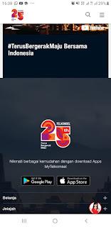 25 Tahun Telkomsel #TerusBergerakMaju Bersama Indonesia.