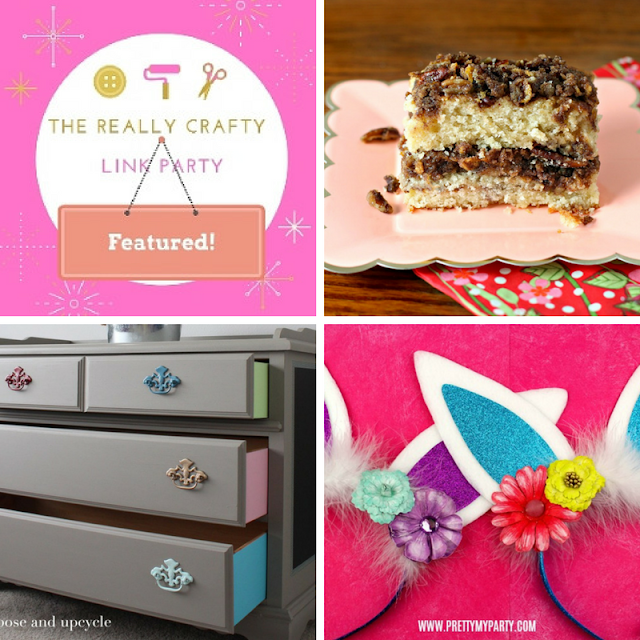 The Really Crafty Link Party #108 featured posts
