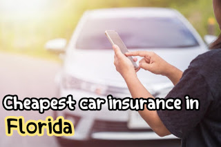 Cheapest car insurance in Florida