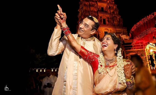 Singer Sunitha Wedding