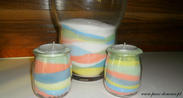 Jak zrobić kolorową sól?