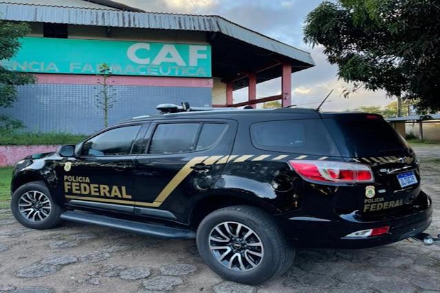 Operação da Polícia Federal apura desvio de kits intubação em Macapá