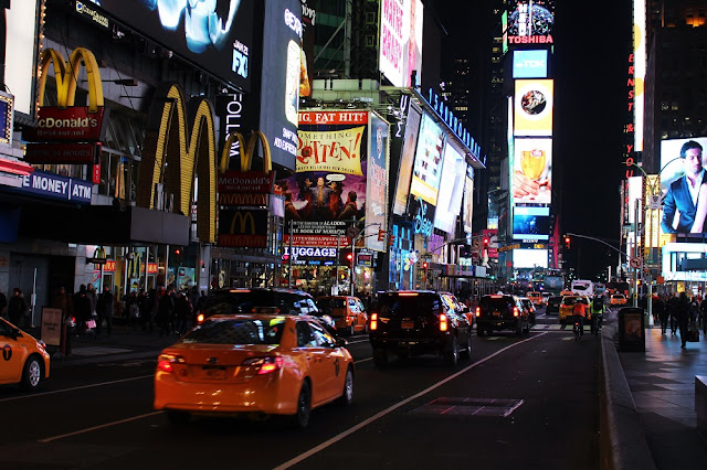 Broadway | weekend in New York | travel and lifestyle blog