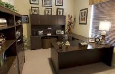 desain ruang kerja minimalis dalam rumah
