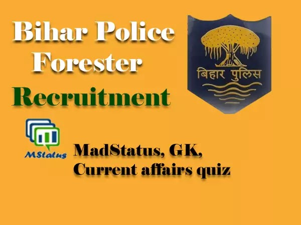 Bihar Police Forest Recruitment 2020 (236 post) Apply now