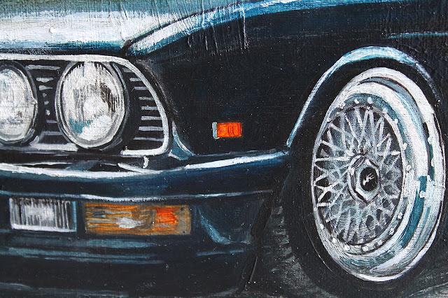 detal obraz BMW e28