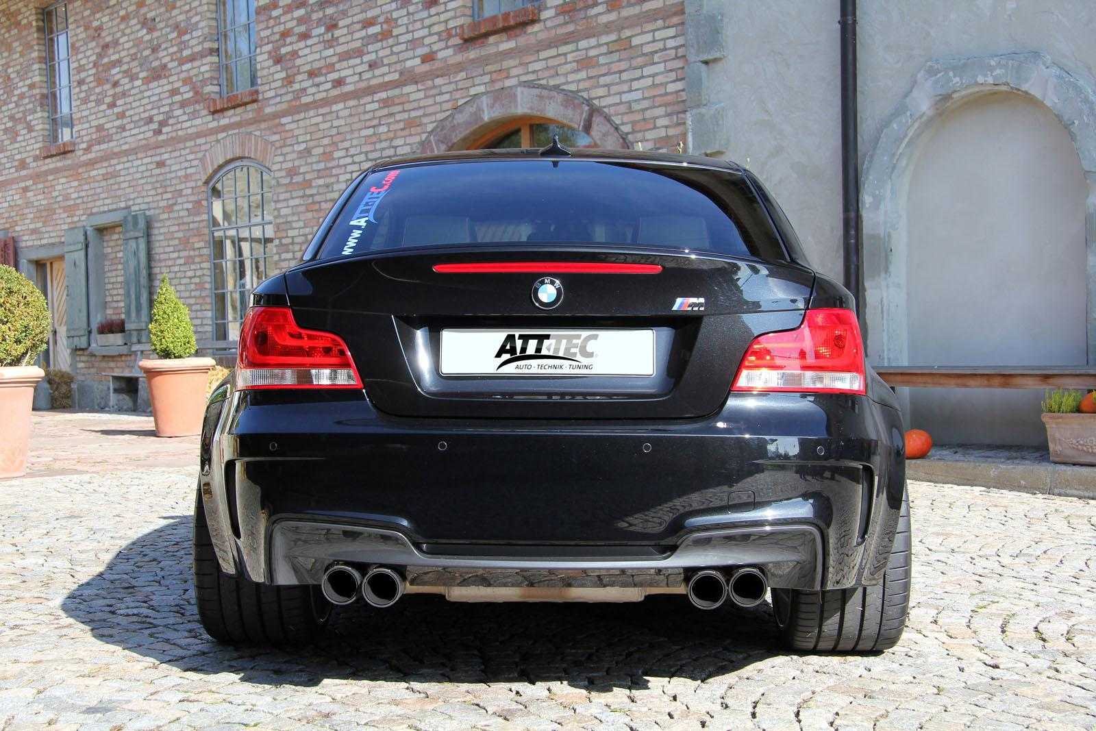 att tec bmw 1 series m coupe car tuning styling. Black Bedroom Furniture Sets. Home Design Ideas