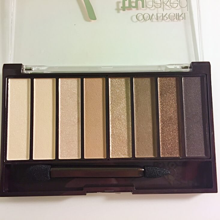Covergirl trunaked Shadow Palette