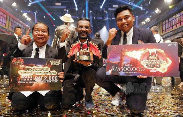 Senarai Semua Pemenang Bagi Program Maharaja Lawak Mega (2011-2019)