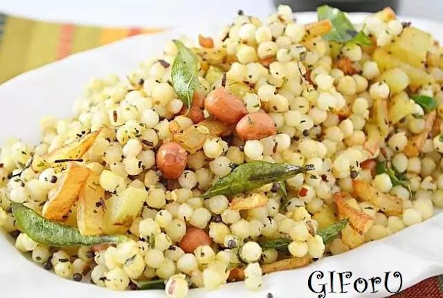 sabudana-upma-recipe-how to make Sabudana Upma Recipe at GIforU