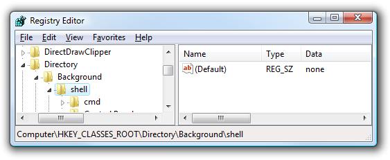 Menambah Sembarang Aplikasi ke Menu pintas klik kanan Desktop-gambar 1