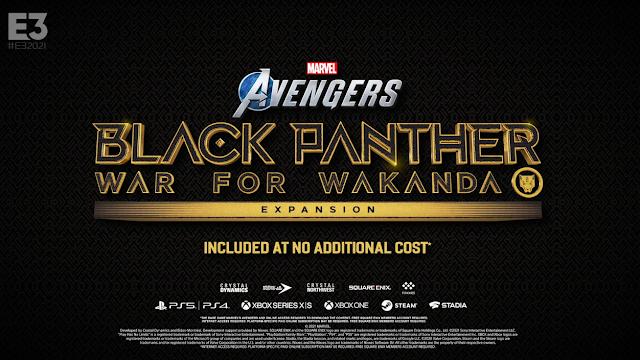 Marvel Avengers Black Panther War for Wakanda Expansion Square Enix Presents E3 2021