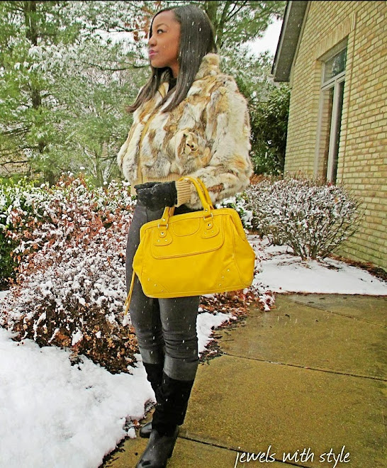 Jewels with Style, style blog, black fashion blogger, fur coat, leather leggings, winter style tips