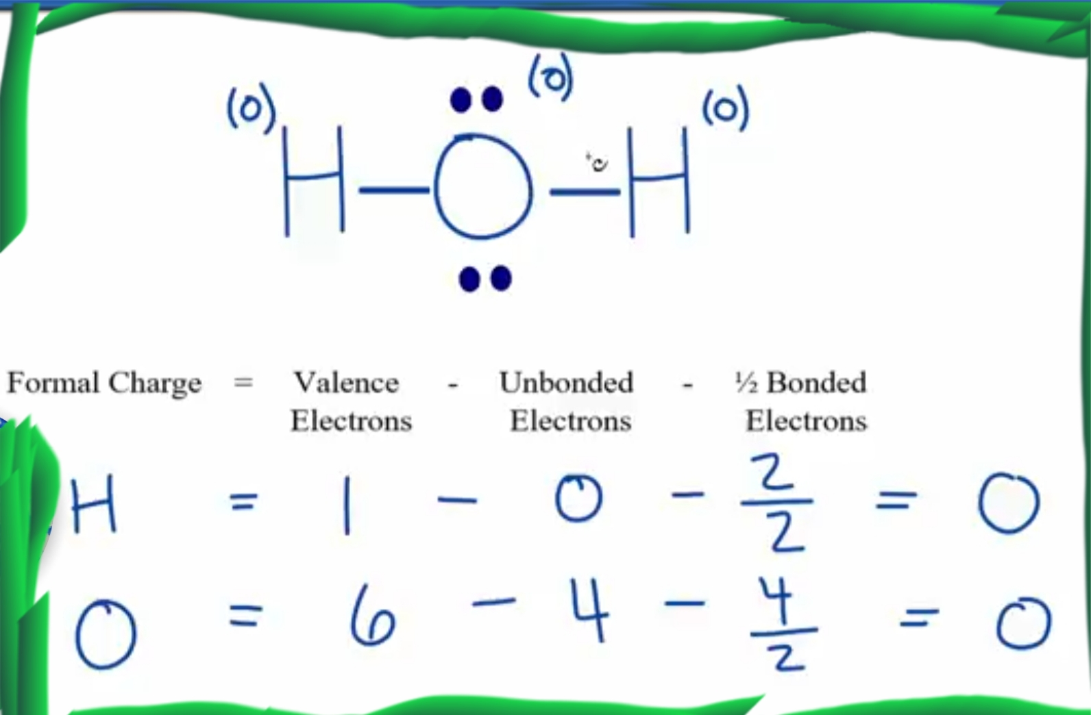 4 Steps H2o Lewis Structure Lewis Structure For H2o