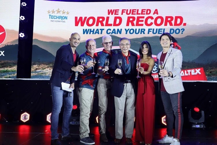 Caltex Intros World Record-Breaking Fuel Campaign