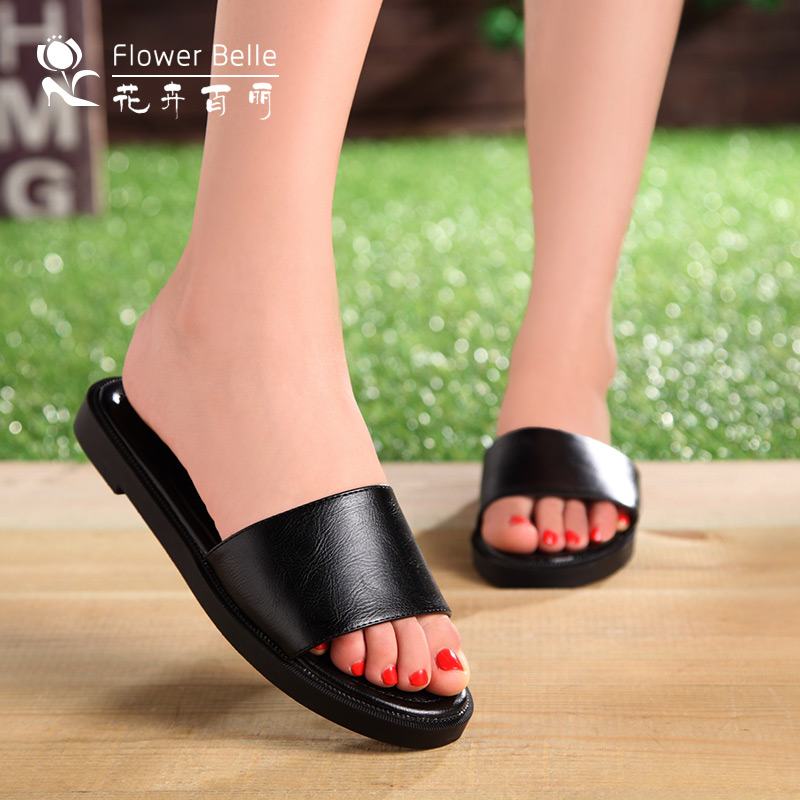 EXOTIC HANDMADE BLACK SLIPPERS N3,000