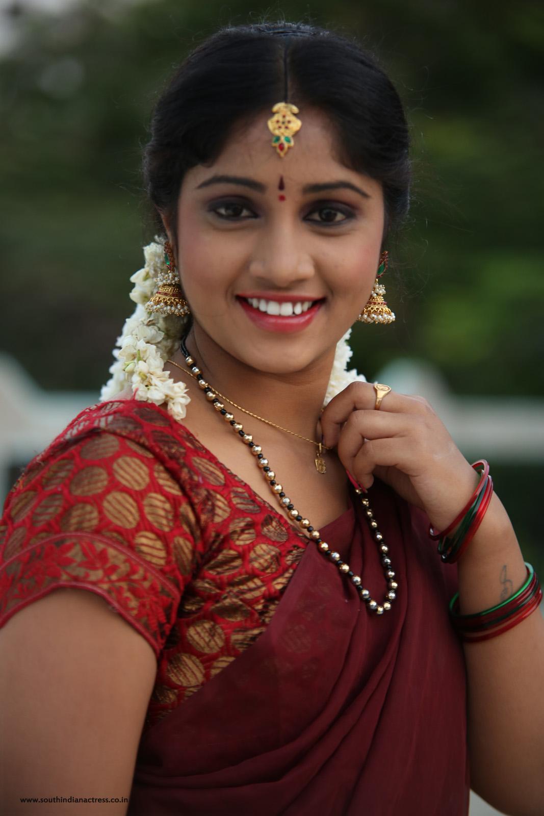 Telugu Actress Gagana In Half Saree Photos - South Indian -4517