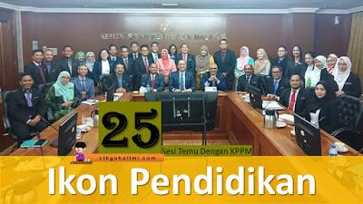 Senarai 25 Ikon Pendidikan Bagi Sesi Temu KPPM