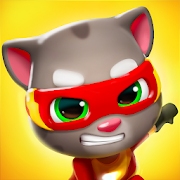 Playstore icon of Talking Tom Hero Dash